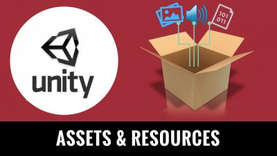 Atelier : Unity Assets & resources - École de jeux vidéo en