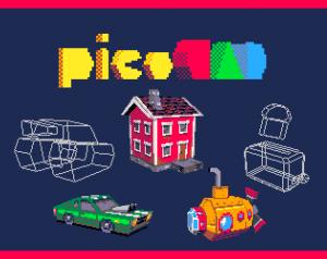 PicoCAD un logiciel 3D low poly